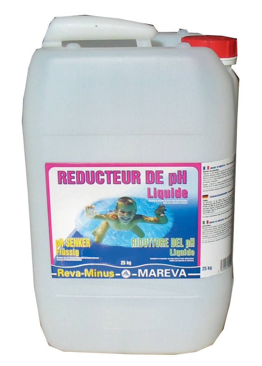 reducteur ph piscine