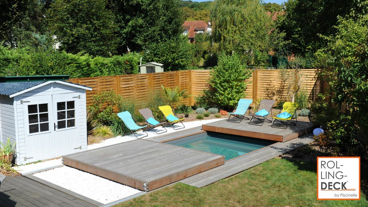 rolling deck savoie piscines spas. Black Bedroom Furniture Sets. Home Design Ideas