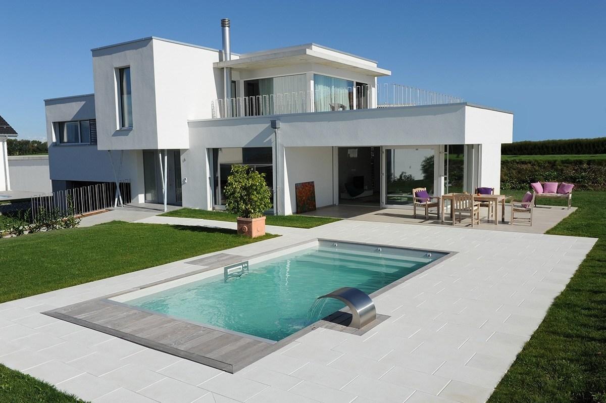 Construction piscine avec savoie piscines spas - Maison d hote en alsace avec piscine ...