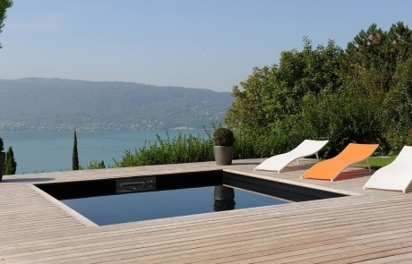 piscine balcon du lac
