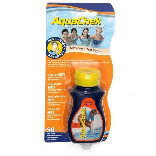 test oxygene actif piscine