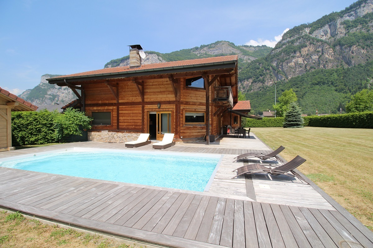 piscine chalet construction